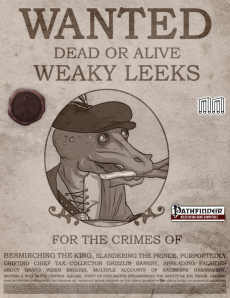 Weaky Leeks Cover