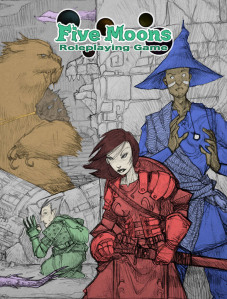 Five Moons RPG cover