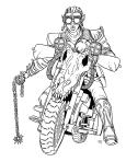 Chainz biker lineart JB