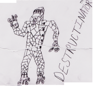 Destructinator™ concept art