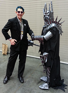 mike and sauron