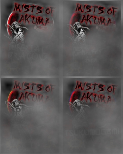 Mists of Akuma quadruple cover reveal