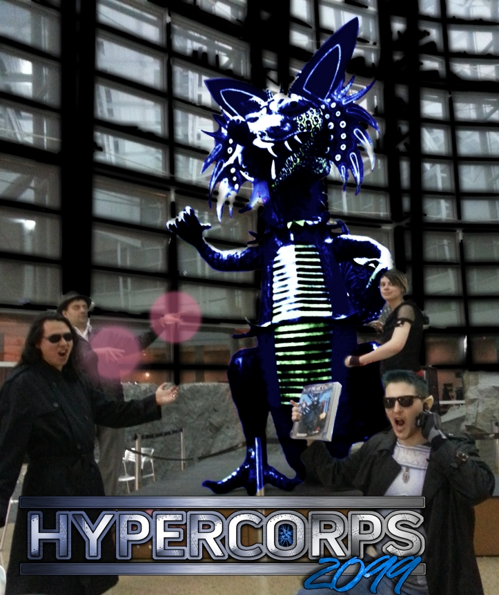 Hypercorps cast airport transformed