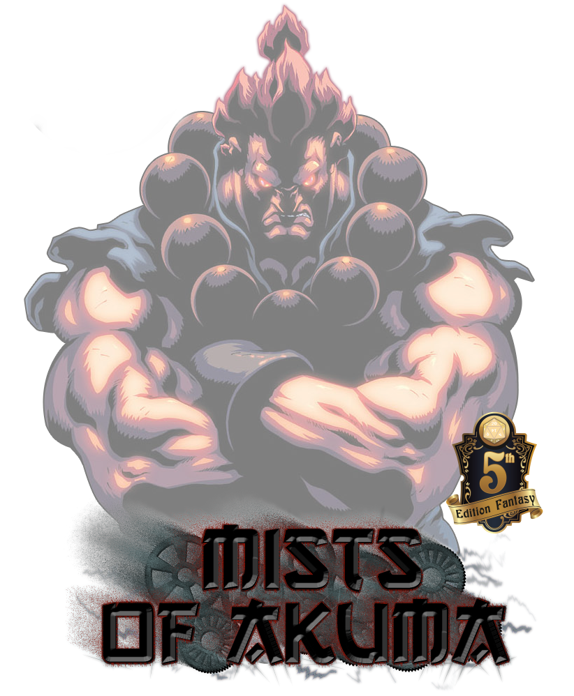 Street Fighter D&D 5E: Akuma – Blog of Characters & Campaign Settings