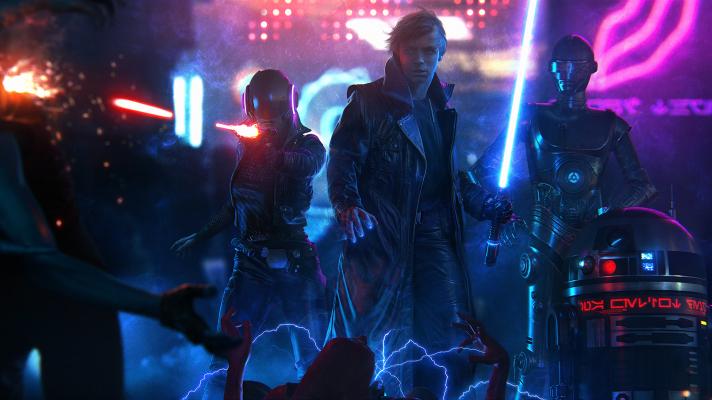 327536-luke_skywalker-star_wars-cyberpunk-lightsaber-ultrawide