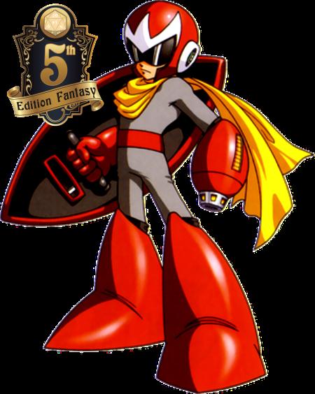 Protoman DnD5e
