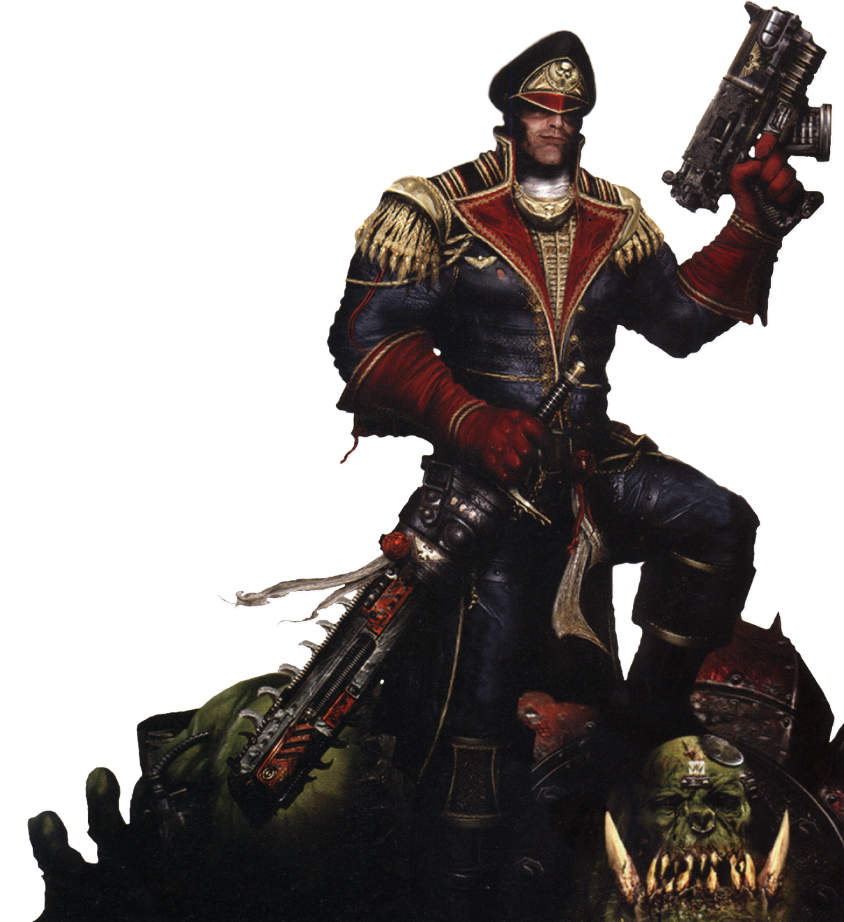 Warhammer 40k D&D 5E – Assault Space Marines and Imperial Commissars