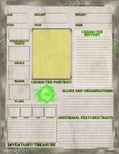 Wasteland Character Sheet BACK draft 1.9