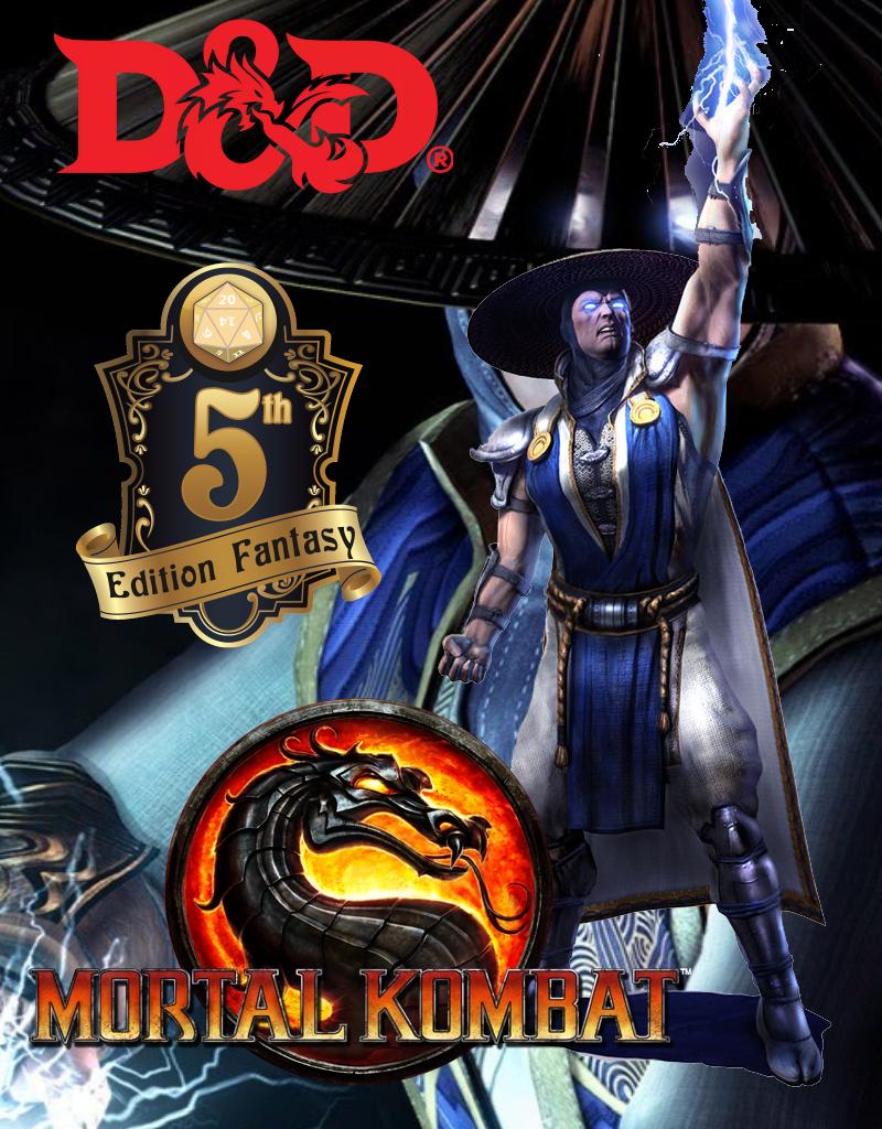 Mortal Kombat D D 5e Raiden Blog Of Characters Campaign Settings