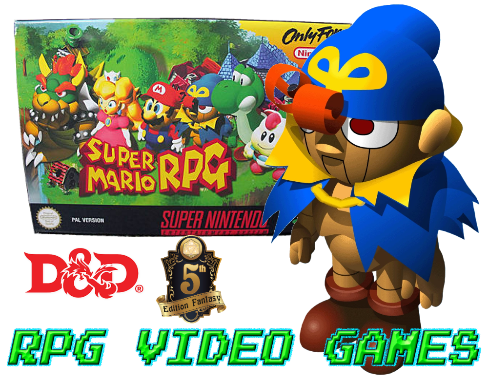 Mario RPG (D&D 5E): Geno – Blog of Characters & Campaign