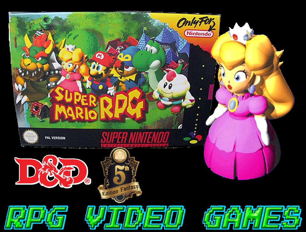 Mario Rpg D D 5e Princess Toadstool Blog Of Characters