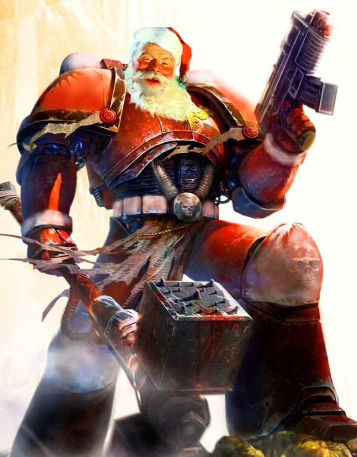 santa warhammer