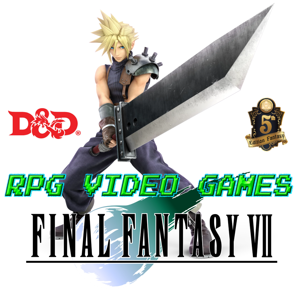 Final Fantasy Vii Cloud Strife D D 5e Blog Of Characters Campaign Settings Boots of striding and springing. final fantasy vii cloud strife d d 5e