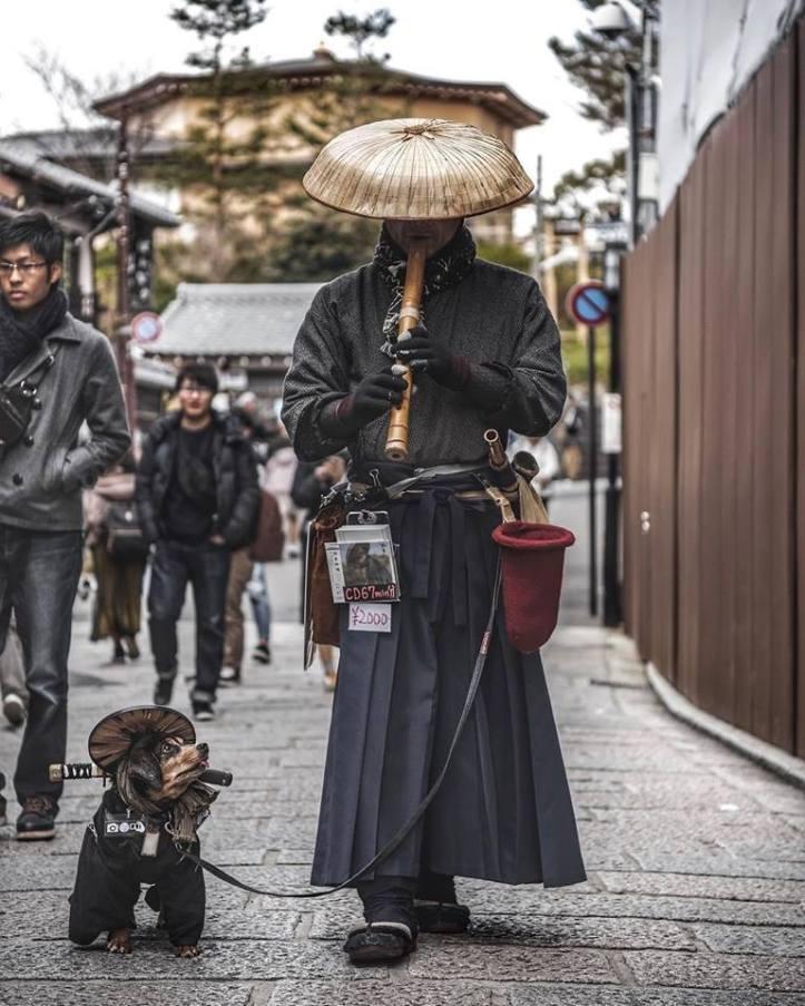 kyoto street performer