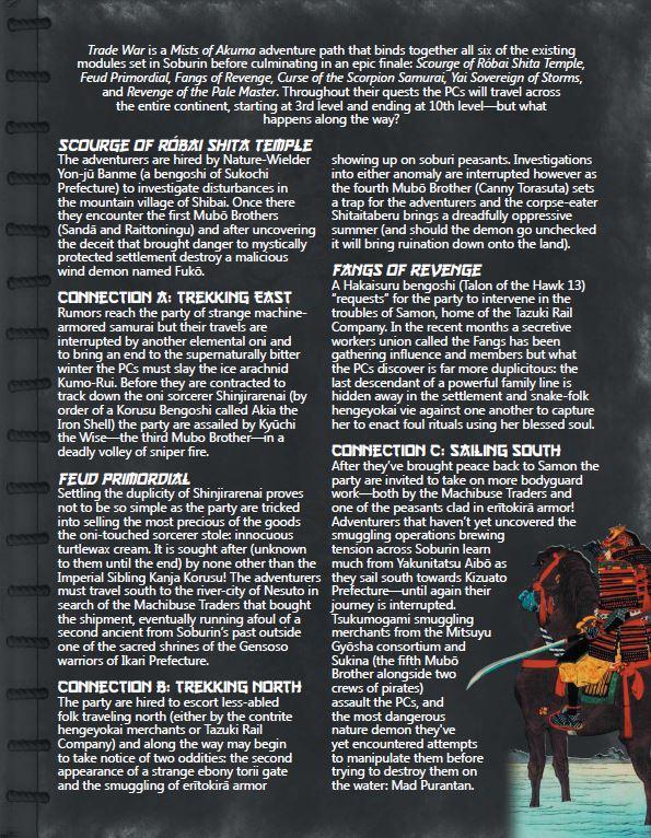 Trade War summary page 1