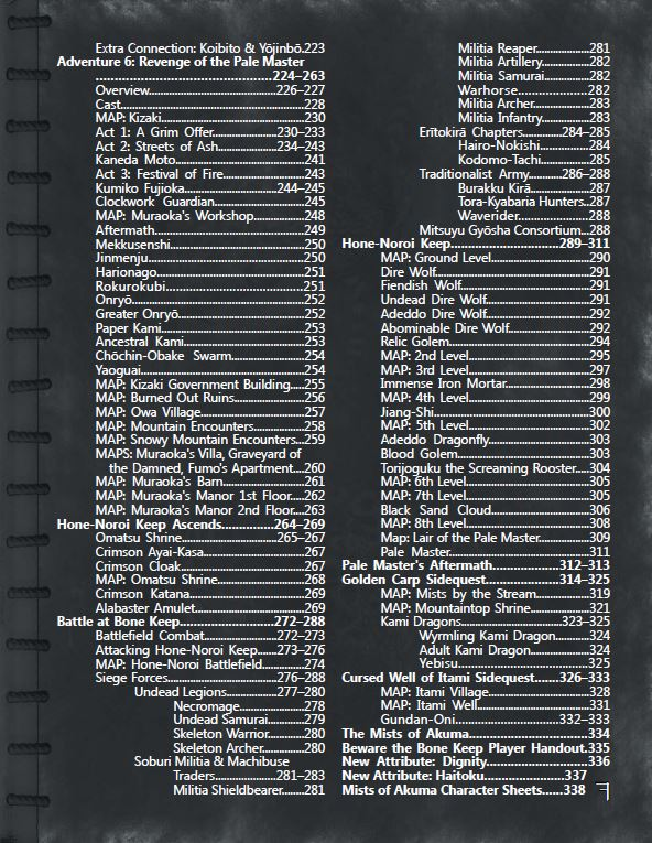 Trade War Table of Contents (page 3)