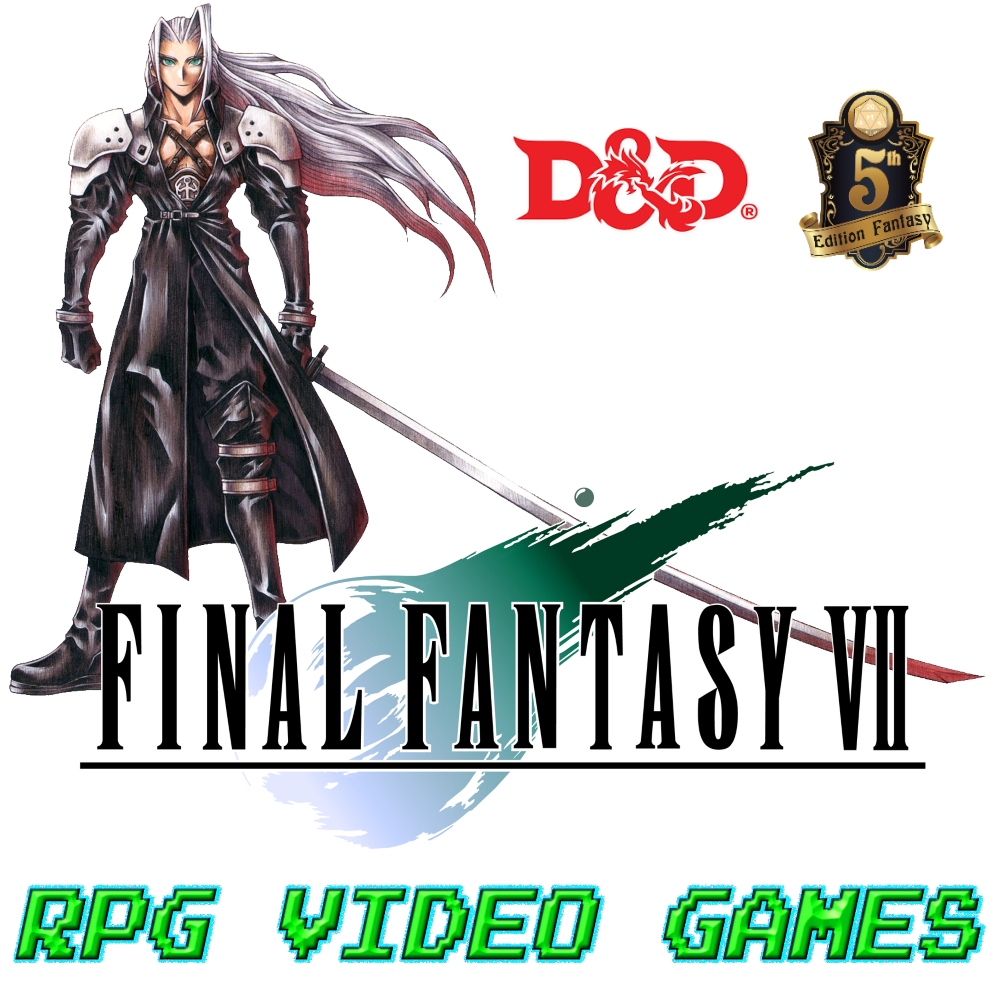 Final Fantasy VII: Sephiroth (D&D 5E) – Blog of Characters