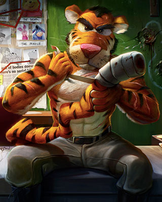 Tigger's Revenge by Dan LuVisi — GeekTyrant